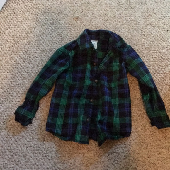 6734c16e Carter's Shirts & Tops   Carters Toddler Boy Plaid Shirt   Poshmark